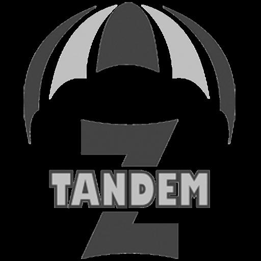 Logotip skok v tandemu