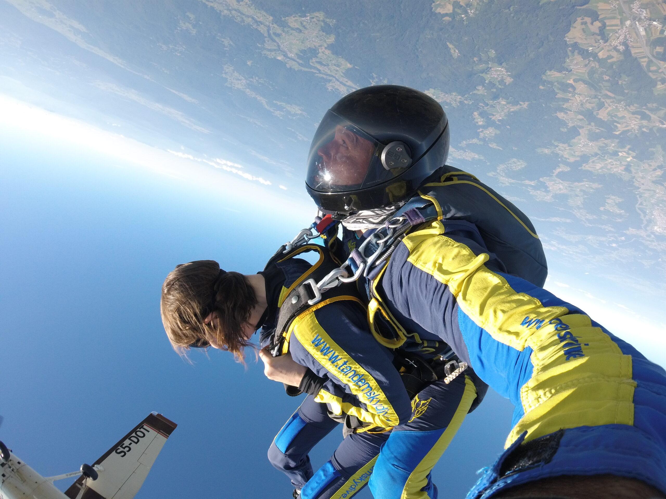 Salta iz 4300 m
